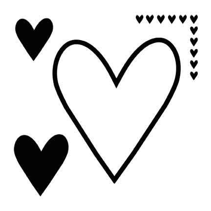 Heidi Swapp - Mega Mask - Heart