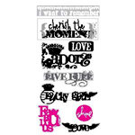 Heidi Swapp - Love Notes Collection - Stickers, CLEARANCE