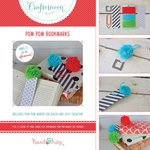 Hazel and Ruby - Crafternoon Collection - Kits - Pom Pom Bookmarks