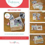 Hazel and Ruby - Crafternoon Collection - Kits - Mini Keepsake Book