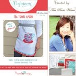 Hazel and Ruby - Crafternoon Collection - Kits - Tea Towel Apron