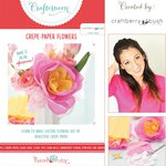 Hazel and Ruby - Crafternoon Collection - Kits - Crepe Paper Flowers