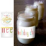 Hazel and Ruby - Christmas - DIY Decor Tape - Colorful Christmas Typography - 4 Inch