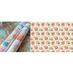 Hazel and Ruby - Wrap it Up - Lightweight Paper Roll - Newsprint Floral