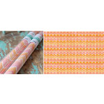 Hazel and Ruby - Wrap it Up - Lightweight Paper Roll - Crazy for Chevy - Corals