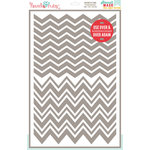 Hazel and Ruby - Stencil Mask - 12 x 18 - Chevron Pattern