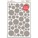 Hazel and Ruby - Stencil Mask - 12 x 18 - Confetti Pattern