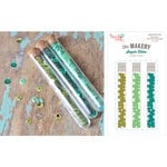 Hazel and Ruby - Sequin Tubes - Green With Envy