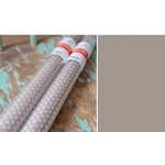 Hazel and Ruby - Pass the Tissue - Tissue Paper Roll - Mod Gray with White Polka Dot