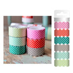 Hazel and Ruby - Scallop Away - Washi Tape - Polka Dot Party