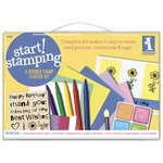 Inkadinkado - Start Stamping - Rubber Stamp Starter Kit