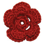 Imaginisce - Out On A Whim Collection - Crocheted Blossoms - Kisses