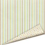 Imaginisce - Baby Powder Collection - 12x12 Double Sided Paper - King of the Crib - Baby Boy