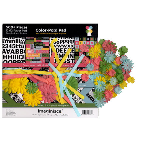 Imaginisce - Color Pop Paper Pad Kit