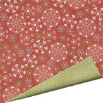 Imaginisce - Snowy Jo Winter Christmas Collection - 12 x 12 Double Sided Paper - Snow Soiree, CLEARANCE
