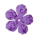 Imaginisce - Gotta Buy Basics Collection - Flourish Flowers - Purple Flourish, CLEARANCE