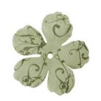 Imaginisce - Gotta Buy Basics Collection - Flourish Flowers - Green Flourish
