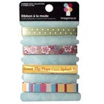 Imaginisce - Summer Cool Collection - Ribbon - A La Mode, CLEARANCE
