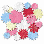 Imaginisce - Summer Cool Collection - Petal Pops Flowers - Seaside Mix, CLEARANCE