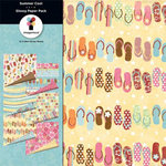 Imaginisce - Summer Cool Collection - Paper Pack, CLEARANCE