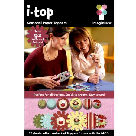 Imaginisce - I-Top Toppers - Paper Stickers - Seasonal