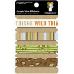 Imaginisce - Wild Things Collection - Ribbons - Jungle Vine