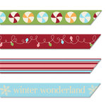 Imaginisce - Polar Expressions Christmas Collection - Ribbons - Holiday Trimmings, CLEARANCE