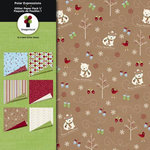 Imaginisce - Polar Expressions Christmas Collection - Paper Pack One