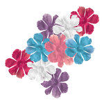 Imaginisce - Perfectly Posh Collection - Fancy Blossoms - Flowers - Flirty, CLEARANCE