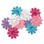 Imaginisce - Perfectly Posh Collection - Fancy Blossoms - Flowers - Posh, BRAND NEW