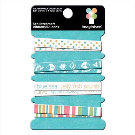 Imaginisce - Splash Dance Collection - Ribbons - Sea Streamers, CLEARANCE