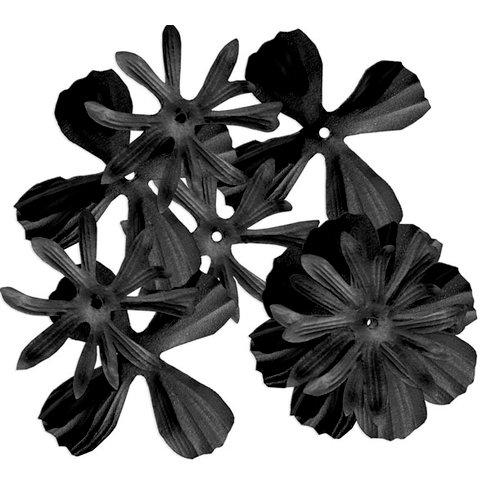 Imaginisce - To Love and Cherish Collection - Soft Elegance Flowers - Black, CLEARANCE