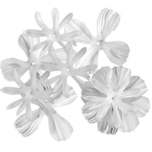 Imaginisce - To Love and Cherish Collection - Soft Elegance Flowers - White