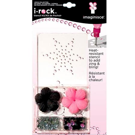 Imaginisce - I-Rock - Stencil Kit - Flower
