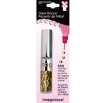 Imaginisce - I-Rock - Glam Rocks - Hot Fix Metal Accents - Metallic Pearl