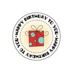 Imaginisce - Birthday Bash Collection - Snag 'em Acrylic Stamps - For Me
