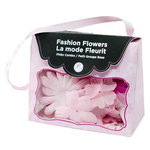 Imaginisce - Fashion Flowers Collection - Fabric Flowers - Pinks, CLEARANCE