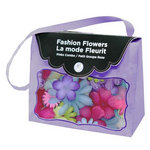Imaginisce - Fashion Flowers Collection - Fabric Flowers - Brights, CLEARANCE