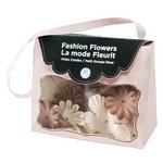 Imaginisce - Fashion Flowers Collection - Fabric Flowers - Neutrals, CLEARANCE