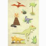 Imaginisce - Dinosaur Roar Collection - Sticker Stacker - 3 Dimensional Stickers with Varnish Accents - Rex and Terry, CLEARANCE