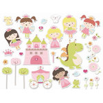 Imaginisce - Enchanted Collection - Die Cut Cardstock Pieces - Make A Wish