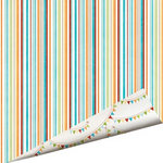 Imaginisce - Animal Crackers Collection - 12 x 12 Double Sided Paper with Glossy Accents - Pixie Sticks, BRAND NEW