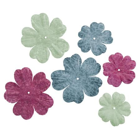 Imaginisce - Garden Party Collection - Floral Flourish - Brights