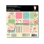 Imaginisce - Garden Party Collection - 6 x 6 Paper Pad