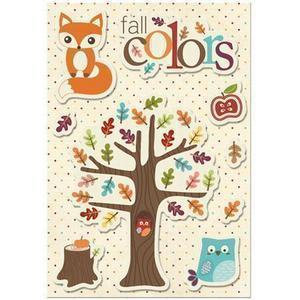 Imaginisce - Happy Harvest Collection - Canvas Stickers - Fall Colors