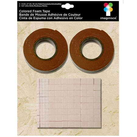 Imaginisce - Foam Tape - Brown