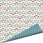 Imaginisce - Sole Sisters Collection - 12 x 12 Double Sided Paper with Glossy Accents - Sole Mates