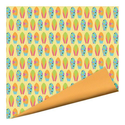 Imaginisce - Makin' Waves Collection - 12 x 12 Double Sided Paper with Glossy Accents - Surf's Up