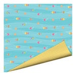 Imaginisce - Makin' Waves Collection - 12 x 12 Double Sided Paper with Glossy Accents - Keepin' Cool