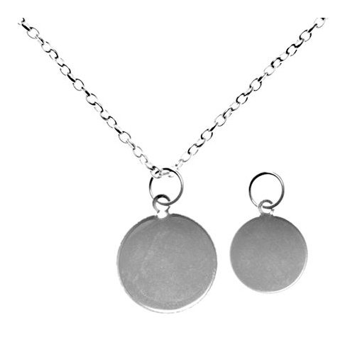 Imaginisce - Magni-top - Silver Plated Necklace
